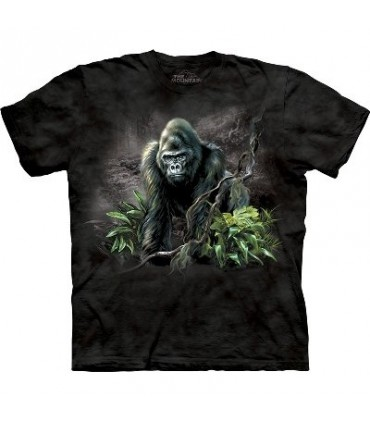 Mountain Gorilla - Zoo Animals T Shirt by the Mountain