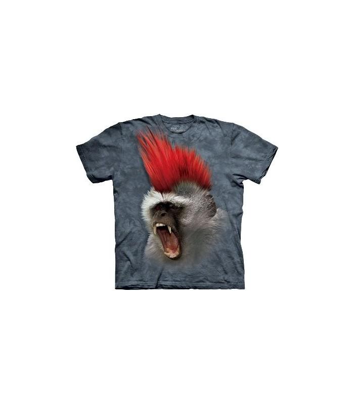T-Shirt Singe Punk par The Mountain