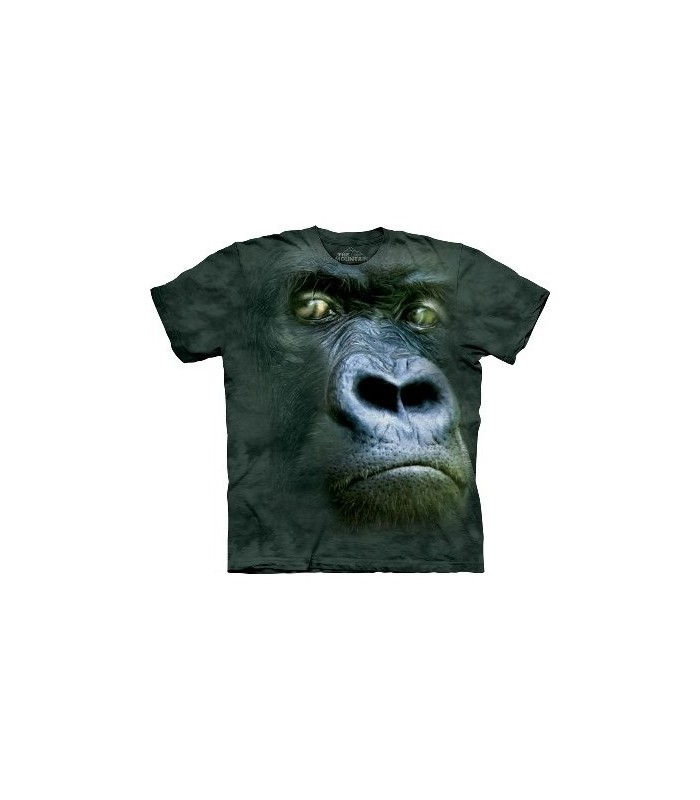 Silverback Portrait - Gorilla T Shirt by the Mountain