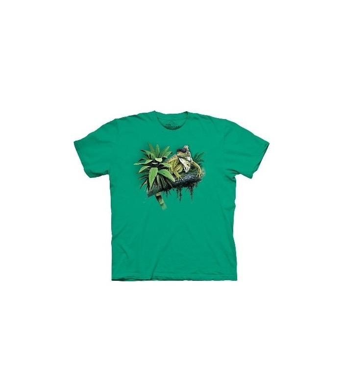 T-Shirt Lézard Cool par The mountain