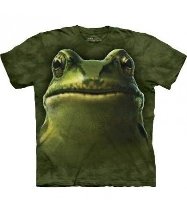 T-Shirt tête de Grenouille par The Mountain