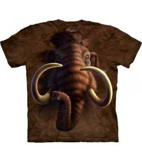 T-Shirt tête de Mammouth par The Mountain