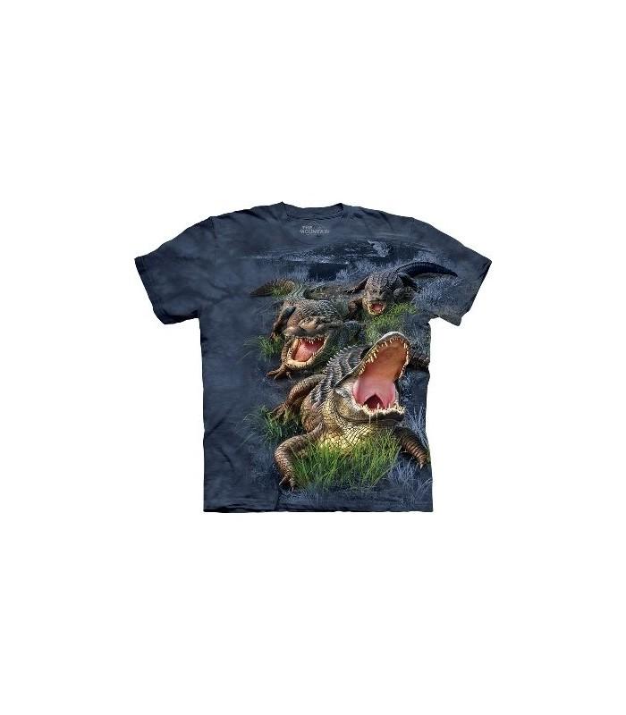 T-Shirt Alligator des Marais par The Mountain