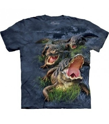 T-Shirt Alligator des Marais par The Mountain