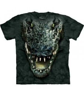 T-Shirt Tête d'Alligator par The Mountain