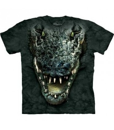 Gator Head - Aligator T Shirt by the Mountain