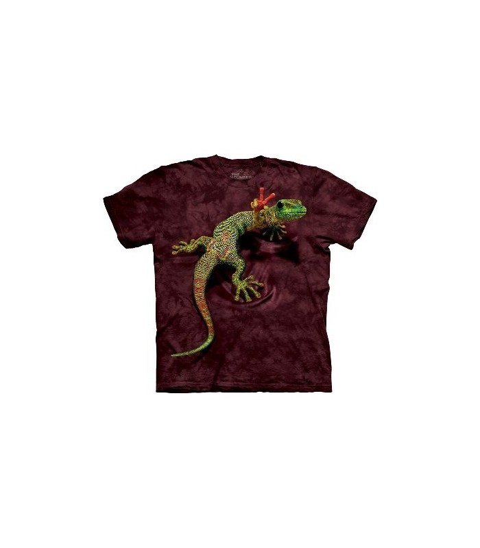 T-Shirt Gecko et Paix par The Mountain