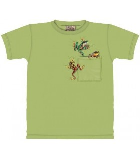 T-Shirt Grenouilles de Poche par The Mountain