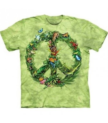 Rainforest Peace - T Shirt by the Mountain