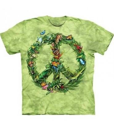 T-Shirt Forêt et Paix par The Mountain