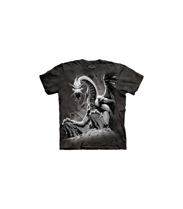 T-Shirt Dragon noir par The Mountain