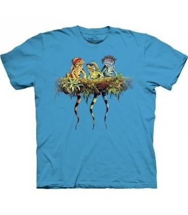 Rasta Iguanas - Zoo Animals T Shirt by the Mountain