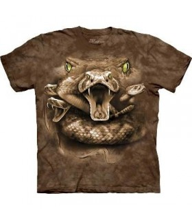 T-Shirt Yeux de Serpent par The Mountain