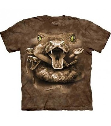 Snake Moon Eyes - Zoo T Shirt by the Mountain
