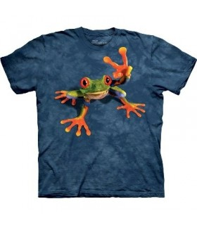 T-Shirt Grenouille et Victoire par The Mountain