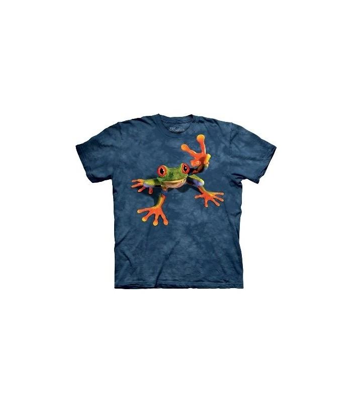 T-Shirt Grenouille et Victoire par The Mountain