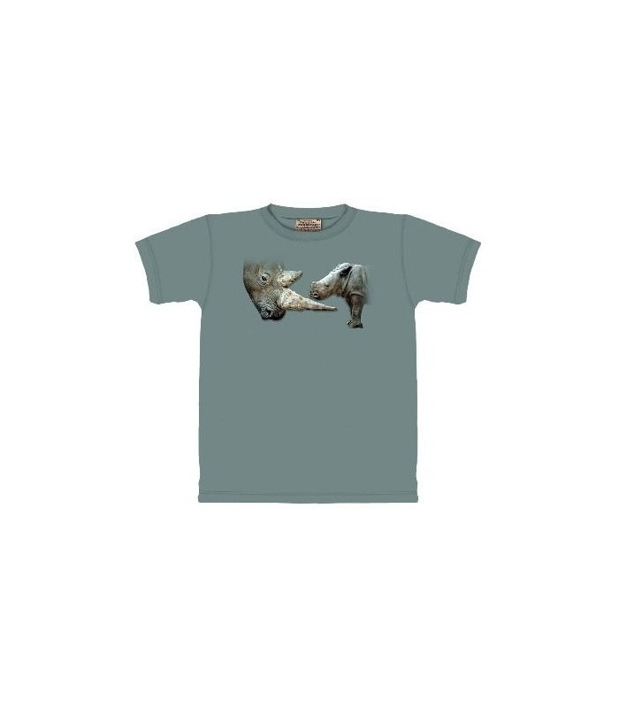 Get to the Point - Rhinoceros T Shirt by the Mountain