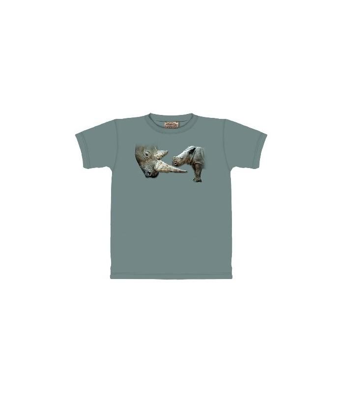 T-Shirt Rhinoceros par The Mountain