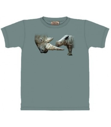 T-Shirt Rhinoceros par The Mountain