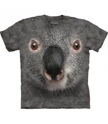 T-Shirt Koala Gris par The Mountain