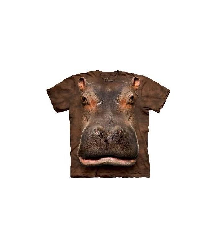 T-Shirt Hippopotame par The Mountain