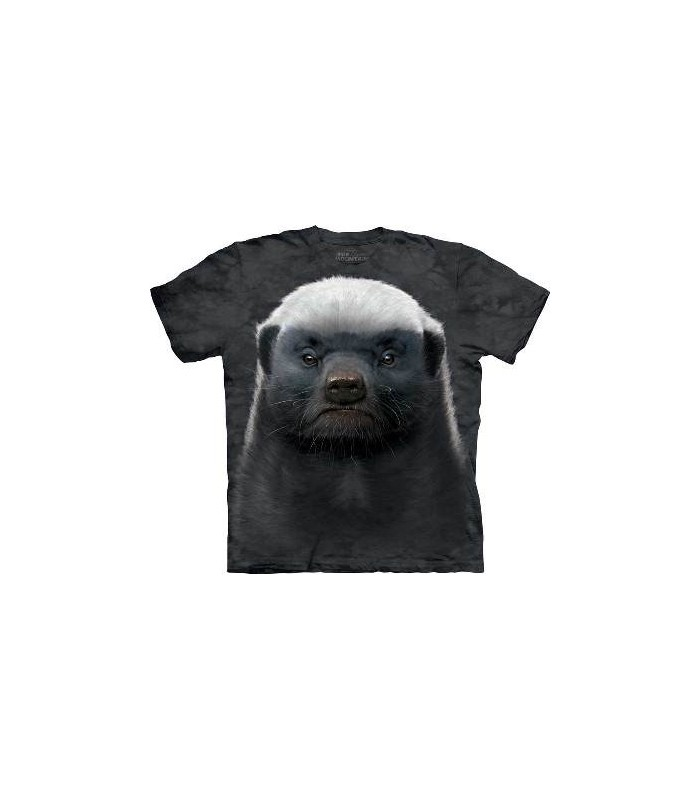 Honey Badger - Animals T Shirt by the Mountain