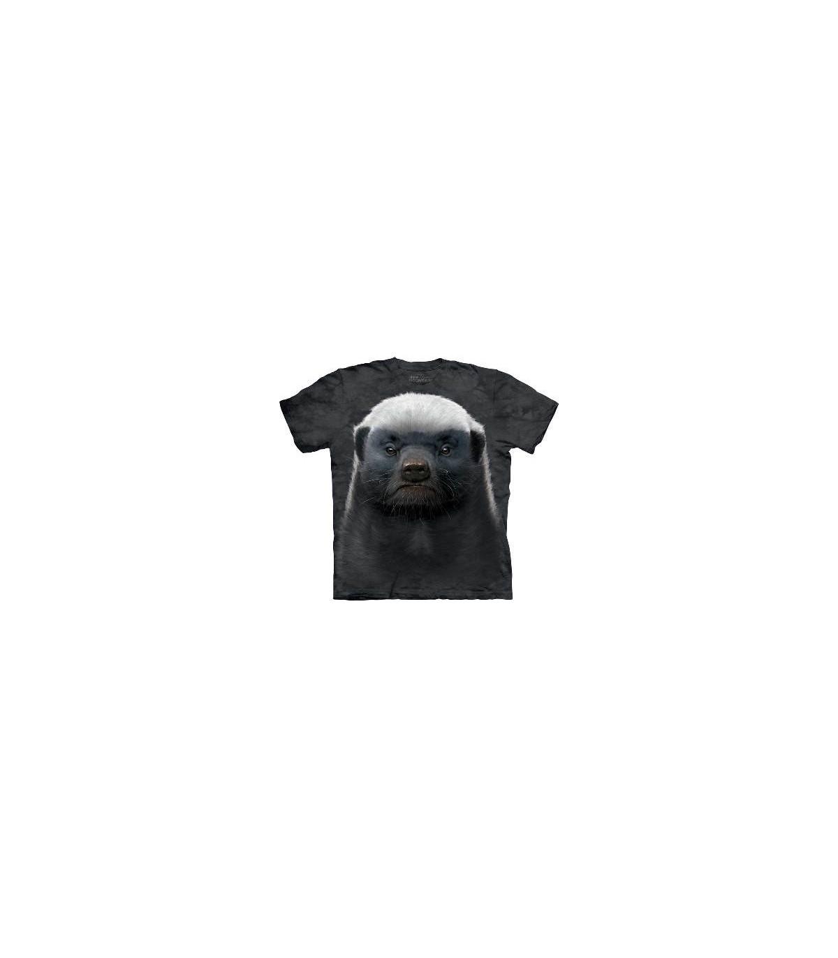 f479132e honey badger animals t shirt by the mountain jpg