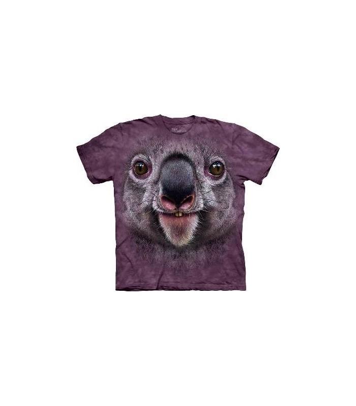Koala Face - Animal T Shirt Mountain