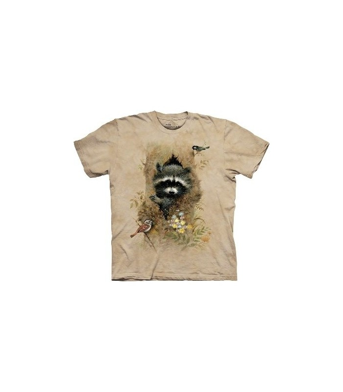 Wee Raccoon - Animals Shirt Mountain