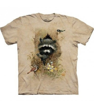 Wee Raccoon - Animals Shirt Mountain