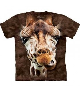 Giraffe - Animal T Shirt Mountain