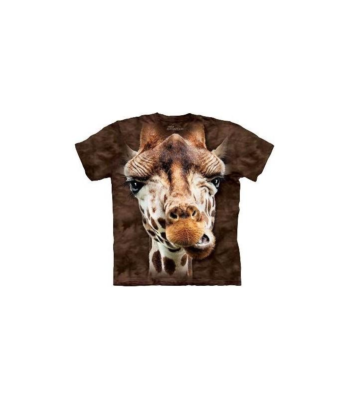 T-Shirt Girafe par The Mountain