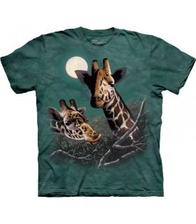 T-Shirt Girafes par The Mountain
