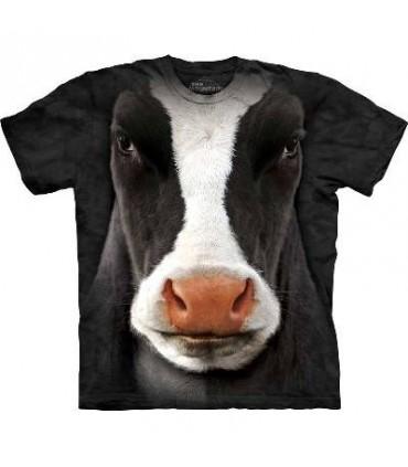 T-Shirt Vache par The Mountain