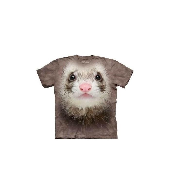 T-Shirt Furet par The Mountain