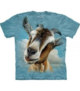Goat Head - Animals T Shirt by the Mountain