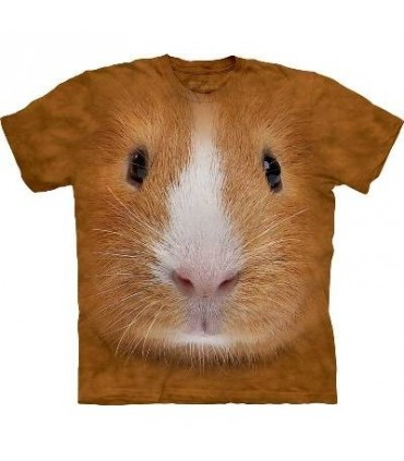 Guinea Pig Face - Guniea Pig T Shirt by the Mountain