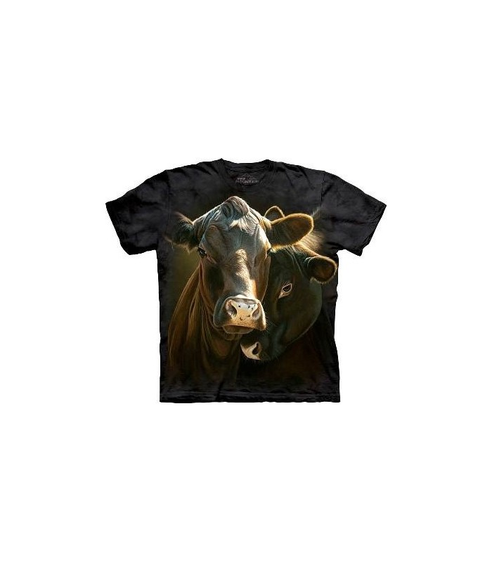 In the Mood - Cow T Shirt by the Mountain