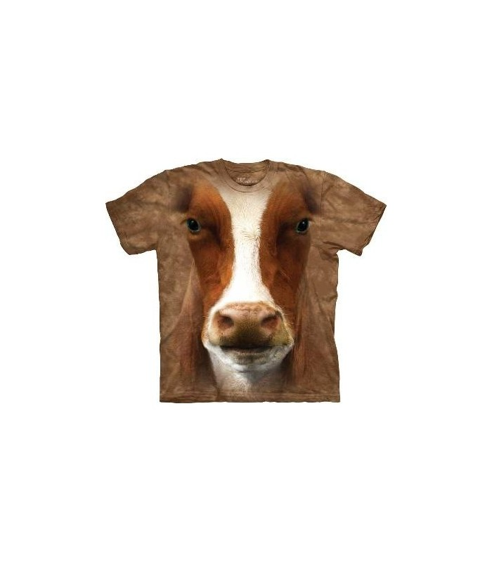 Moo - Cow T Shirt by the Mountain