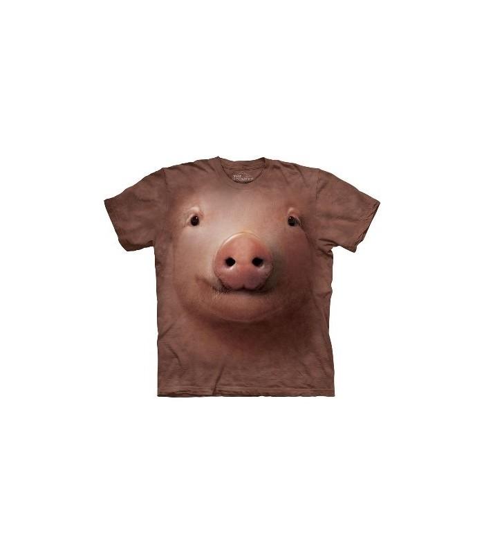 T-Shirt Cochon par The Mountain