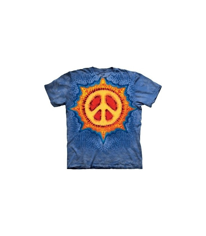Peace Sun - Inspirational T Shirt by the Mountain