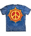 T-Shirt Soleil de Paix par The Mountain