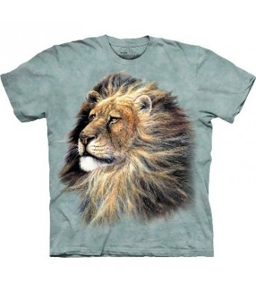 Lion Head - Zoo Animals T Shirt by the Mountain