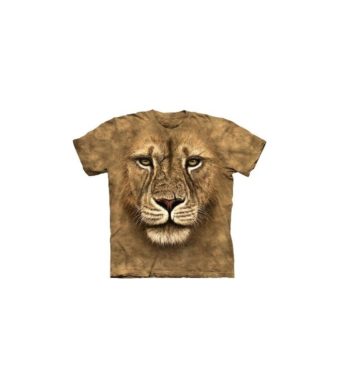 Lion Warrior - Big Cats T Shirt by the Mountain