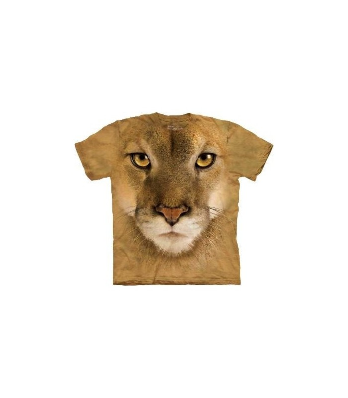 Lion Face - Big Cats T Shirt by the Mountain