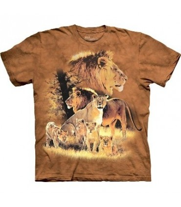 T-Shirt Lion Fier par The Mountain