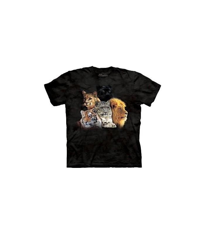 T-Shirt Grands Félins par The Mountain
