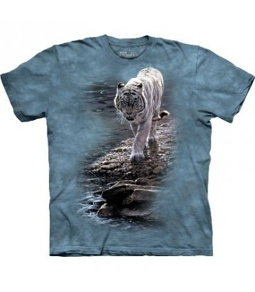 By the River - Tiger T Shirt The Mountain