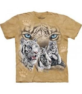 Trouver 12 Tigres - T-shirt Tigre The Mountain