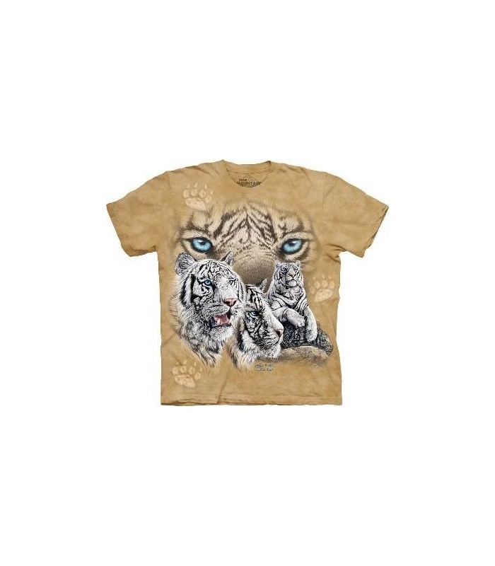 Trouver 12 Tigres - T-shirt Tigre The Mountain
